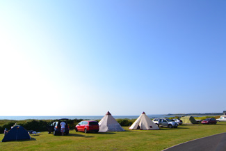 camping at sands of luce