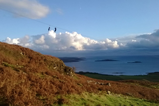 laggan zip wire scotland