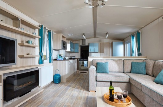Luce Bay Holiday Park Home
