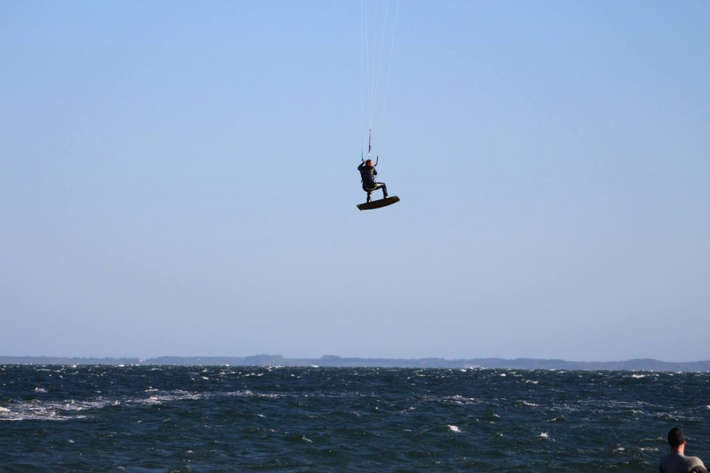 kitesurfing in galloway