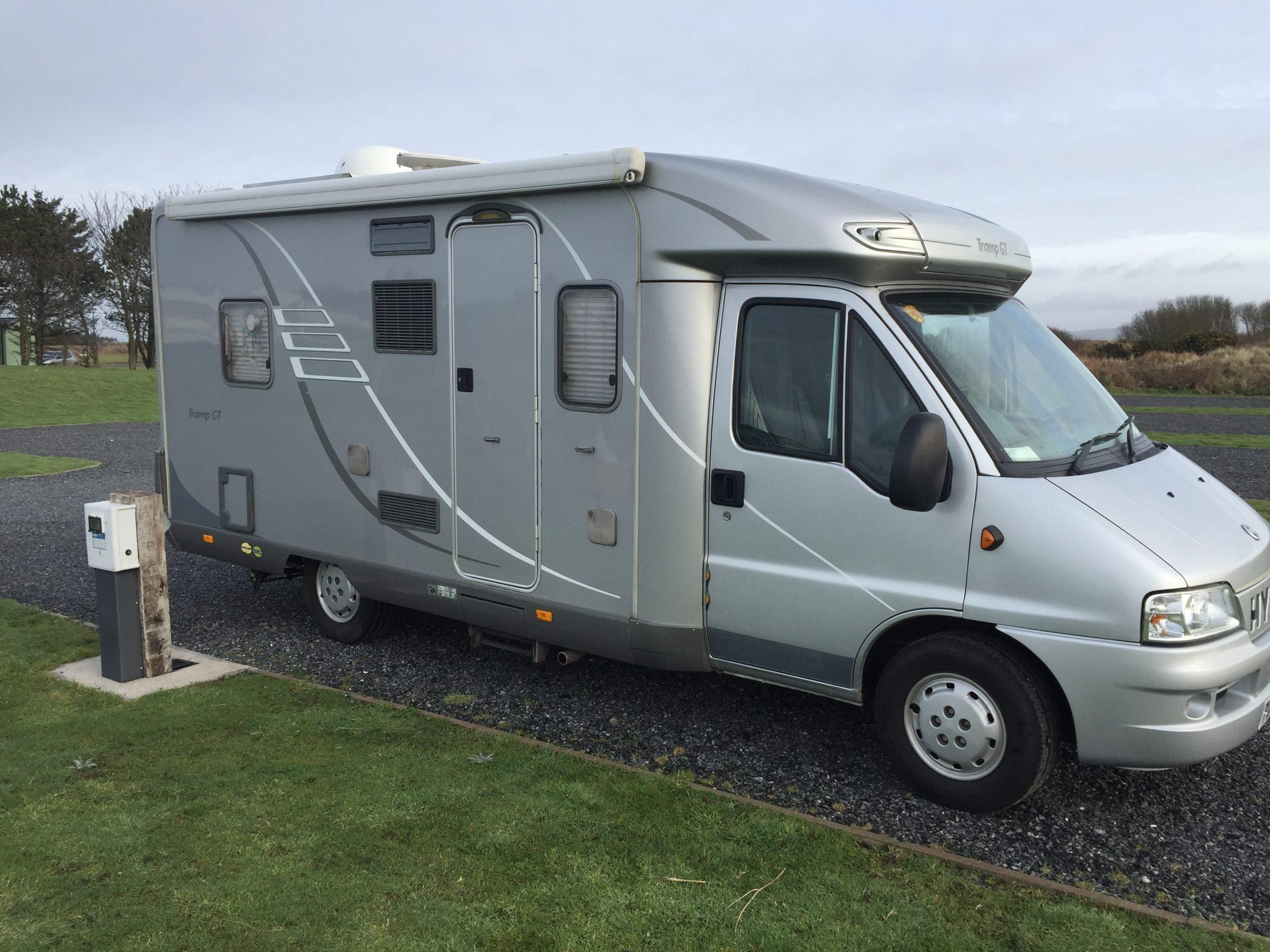 hymer tramp caravan
