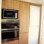 Willerby Winchester Oven, Grill and fridge freezer