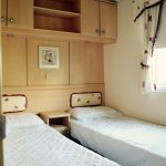 Willerby Winchester Twin bedroom