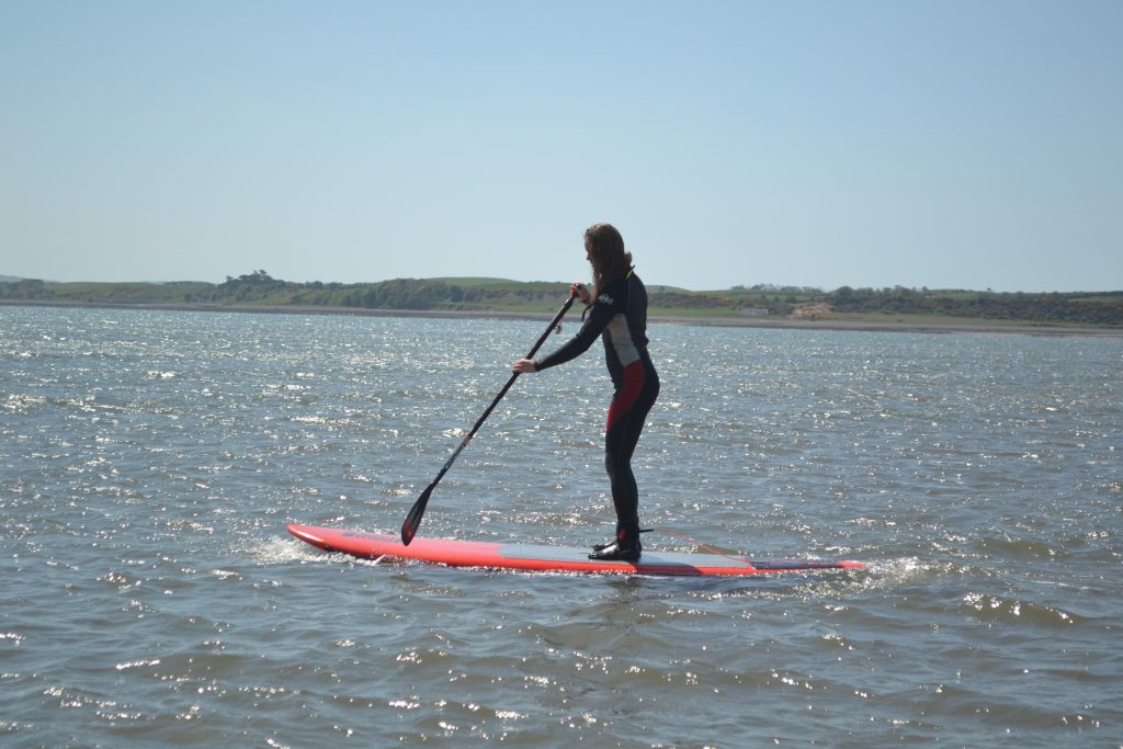 paddleboarding in dumfries