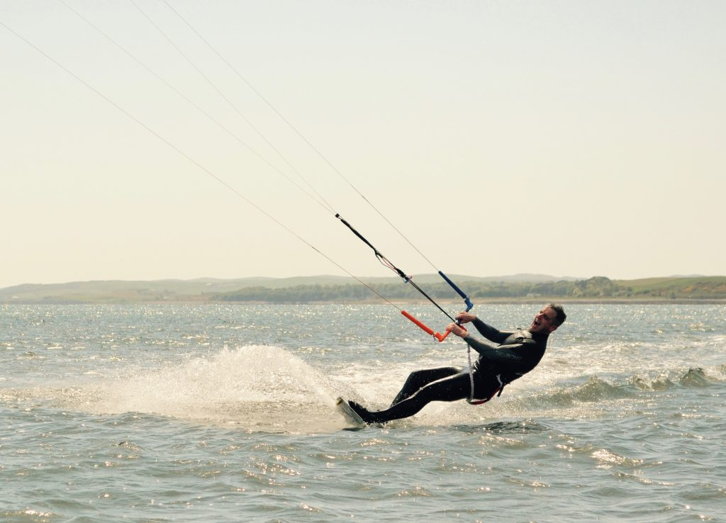 kitesurfing in dumfries and galloway