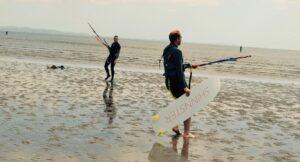 surfing in scotland