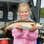 family fishing in dumfries