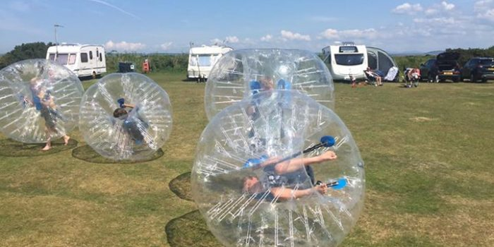 zorb balling sands of luce holiday park